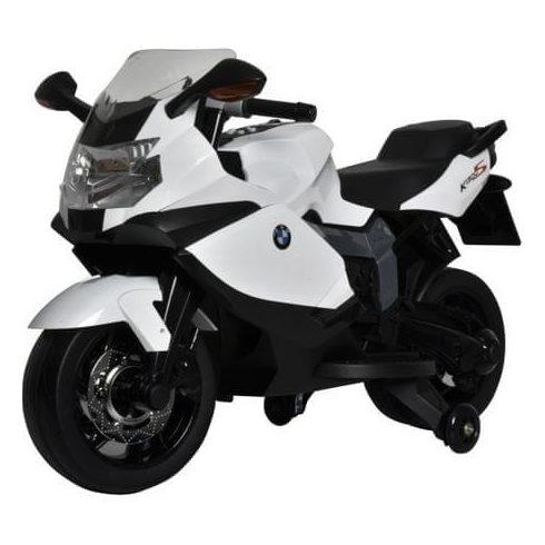 Motor electric BMW pentru copii de la 3 ani, 3 km/h, alb