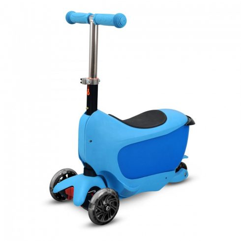 Trotineta, baby taxi, pentru copii, albastru