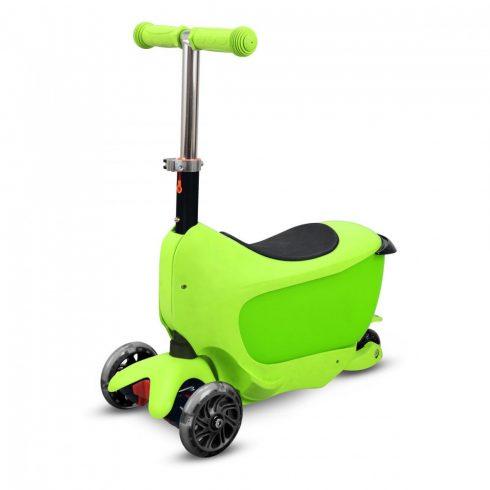 Trotineta, babytaxi, pentru copii, verde