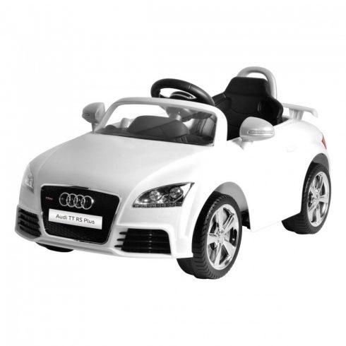 Mașină electrică Audi TT, de la 3 ani, 3 km/h, alb