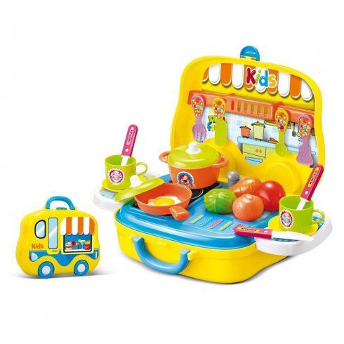 Jucărie bucătărie din plastic pentru copii