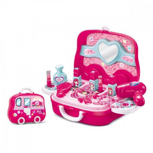 Valiză jucărie salon de frumusețe pentru copii
