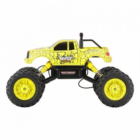Mașină alpinist off-road cu telecomandă, 1:14, galben