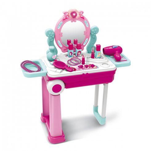 Set salon de înfrumusețare din plastic pentru copii