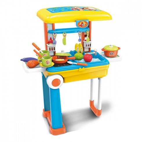 Set de bucătărie din plastic pentru copii