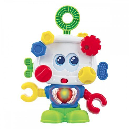 Super robot interactiv, ochi mișcători  și inima iluminată, mâini mișcătoare , vorbește și emitere sunete