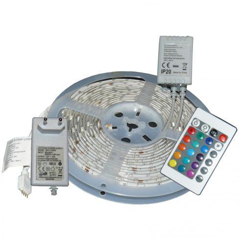 Banda LED culoare schimbabilă, 5m