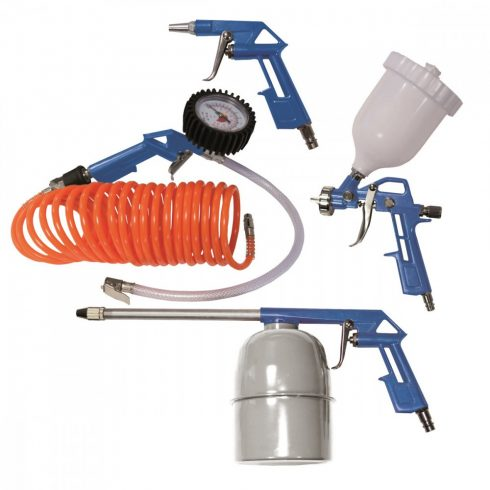 Scheppach, set de accesorii 5 piese, compressor