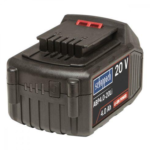 Scheppach baterie Li-Ion 20 V 4 Ah