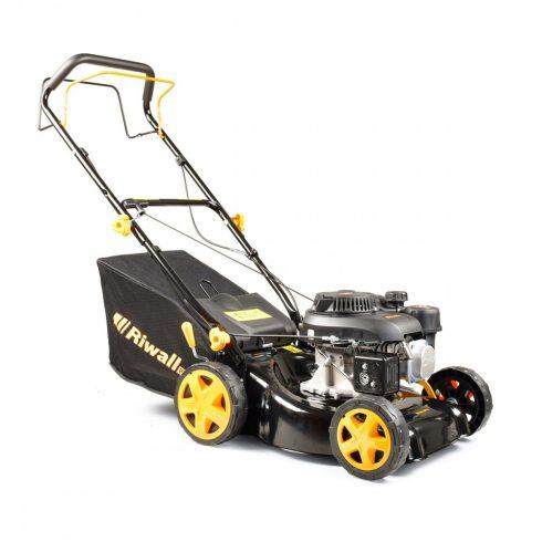 Riwall PRO RPM 4234 mașină de tuns iarba autopropulsată, multifuncțională cu motor pe benzină 2 în 1