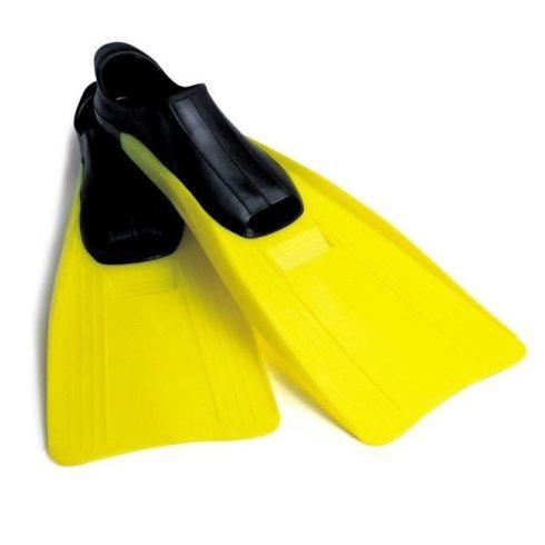 Labe înot INTEX Super Sports galben, dimensiunea 35-37 (55933)