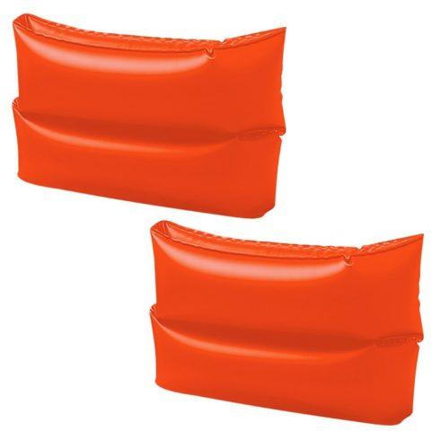 Aripioare înot INTEX, portocaliu, mare, 2 buc / pachet (59642)