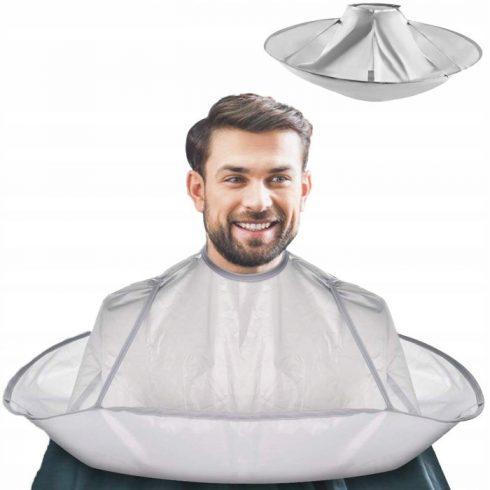 Pelerină de tuns rotundă impermeabilă, tip umbrelă