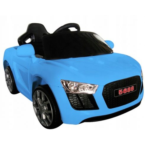 Mașinuță sport electrică pentru copii, RG-AA4, albastru