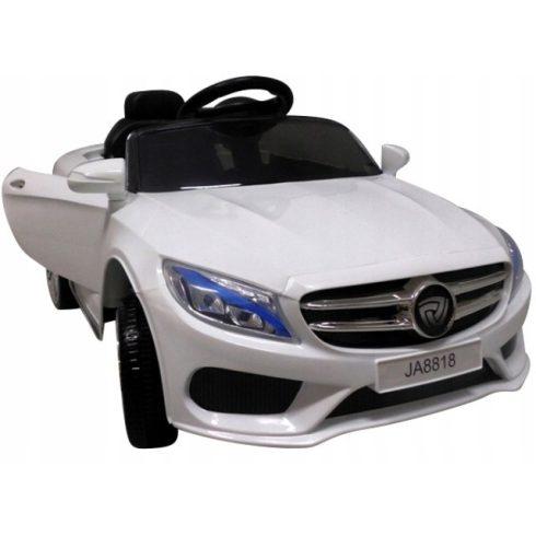 Mașinuță sport electrică  cabrio pentru copii, alb