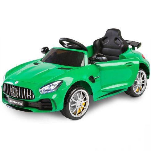 Mercedes GTR, mașină electrică  pentru copii, verde