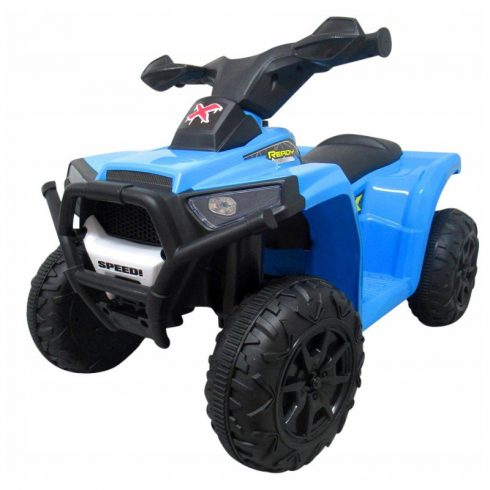 J8 quad electric pentru copii, albastru