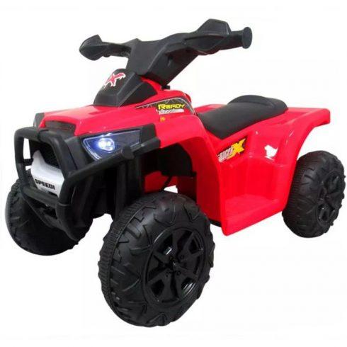J8 quad electric pentru copii, roșu