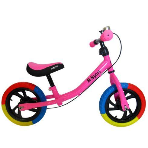 R6 bicicleta fără pedale, roz
