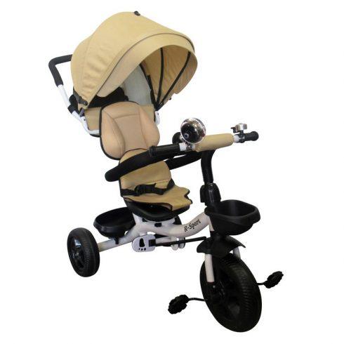 T4 Tricicletă cărucior aventură, clasic, bej