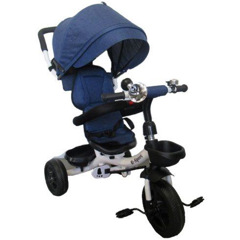 T4 Tricicletă cărucior aventură, clasic, albastru