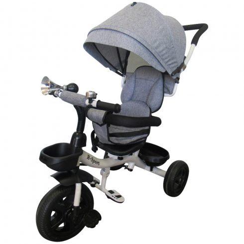 T4 Tricicletă cărucior aventură, clasic, gri