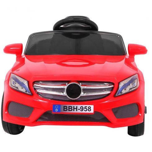 Mașină electrică cu 1 loc pentru copii, roșu