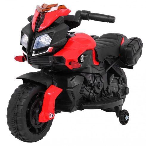 Motocicletă electrică pentru copii, roșu negru