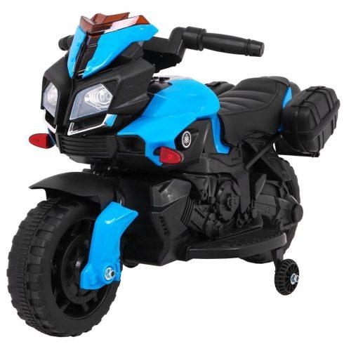 Motocicletă electrică pentru copii, albastru negru
