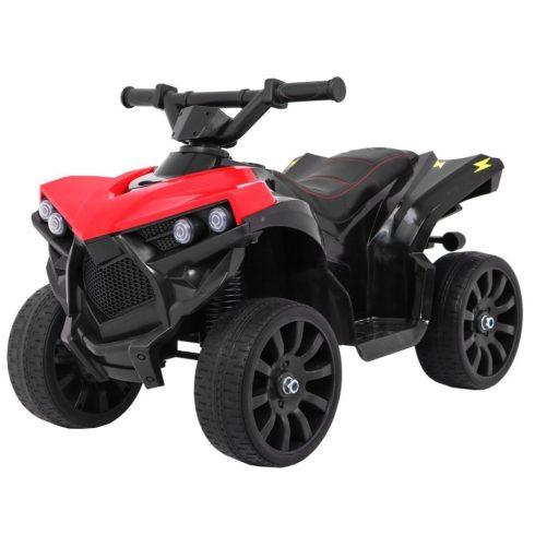 Quad electric pentru copii, roșu-negru