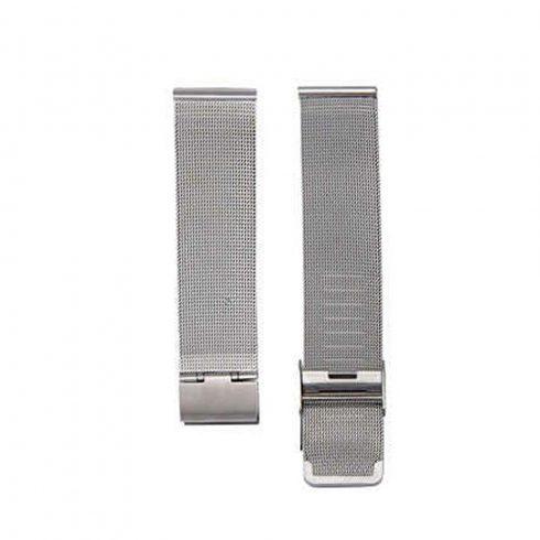 Curea metalică - pentru ceasuri inteligente Safako SWP55 și SWP75 BT (argintiu)