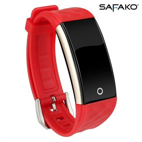Brățară inteligentă Safako SB4010 (culoarea rosie)