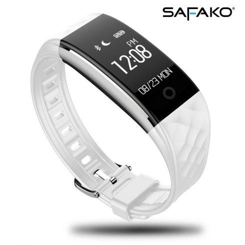 Brățară inteligentă Safako SB4010 (culoarea albă)