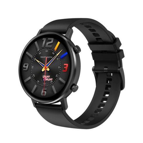 Safako SB7030, ceas inteligent, negru, curea silicon + cadou curea metal