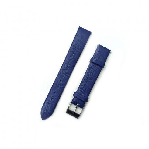 Curea - pentru ceasuri Safako SB7010 și SB8010, imitație de piele, albastru