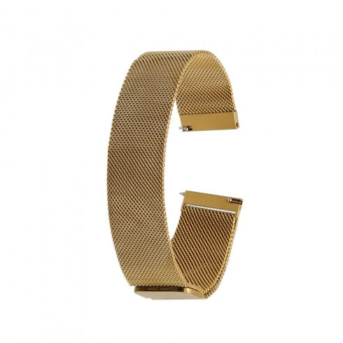 Curea - pentru ceasuri Safako SB7010 și SB8010, metal, auriu