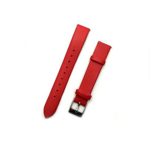 Curea - pentru ceasuri Safako SB7010 și SB8010, imitație de piele, roșu