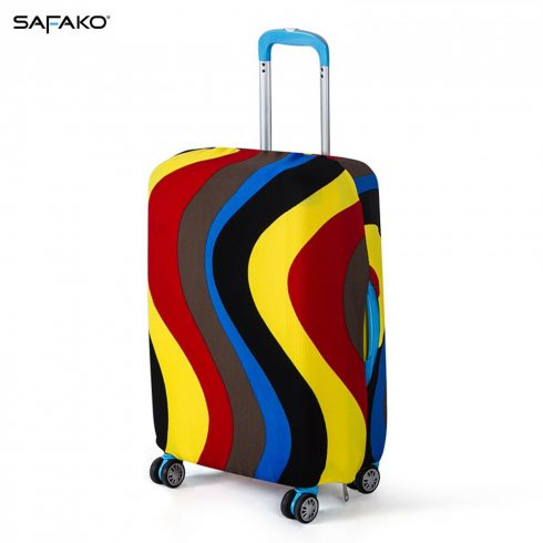 BP-A1M husă protectoare pentru valiză - ondulat - M - valiză mică