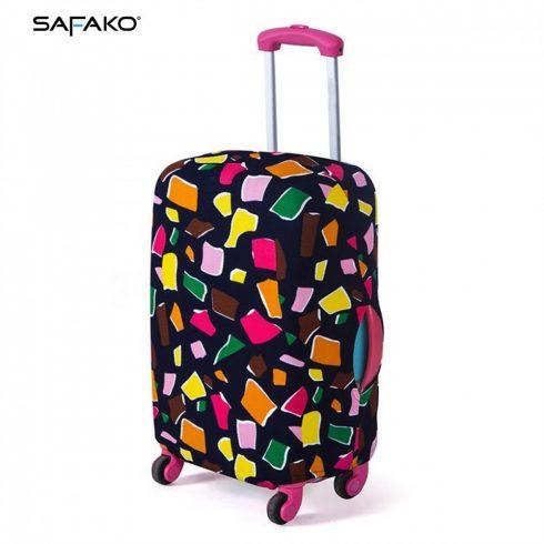 BP-A2L husă protectoare pentru valiză - colorat - L - valiză mijlocie