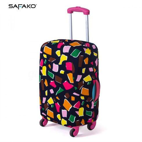BP-A2M husă protectoare pentru valiză - colorat - M - valiză mică