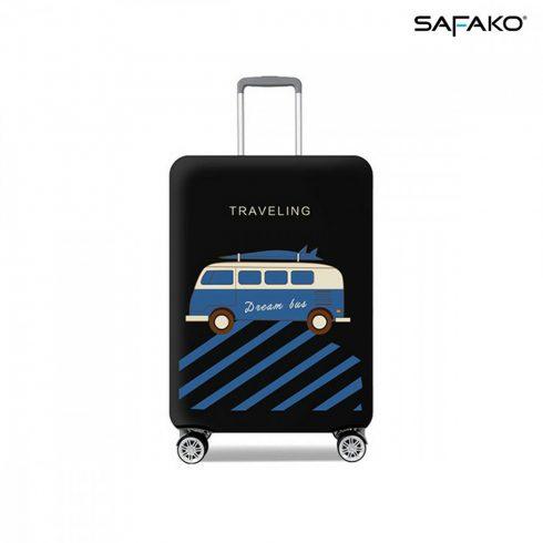 BP-C1M husă protectoare pentru valiză - voiaj negru - M - valiză mică