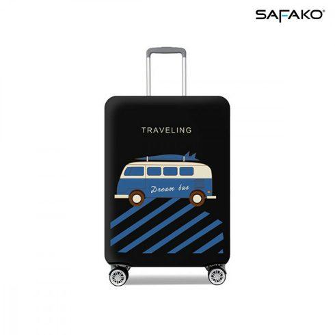 BP-C1S husă protectoare pentru valiză - voiaj negru - S - bagaj mare de mână