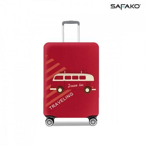 BP-C2M husă protectoare pentru valiză - voiaj roșu - M - valiză mică
