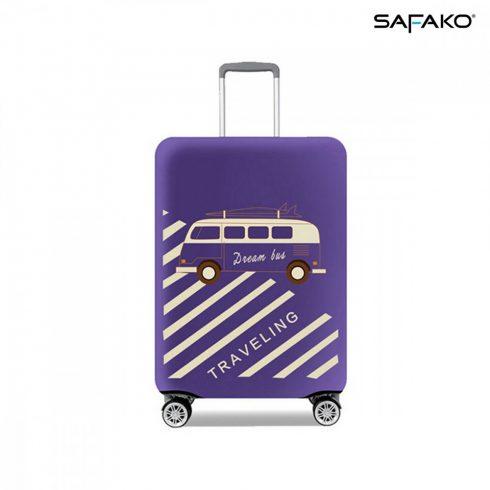 BP-C3M husă protectoare pentru valiză - voiaj bleumarin - M - valiză mică