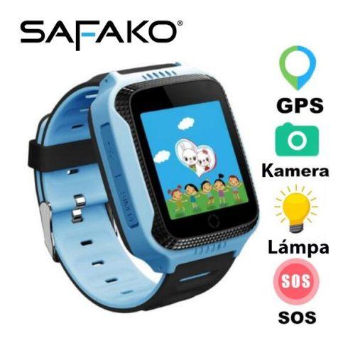 Ceas inteligent pentru copii Safako Kids 300 albastru