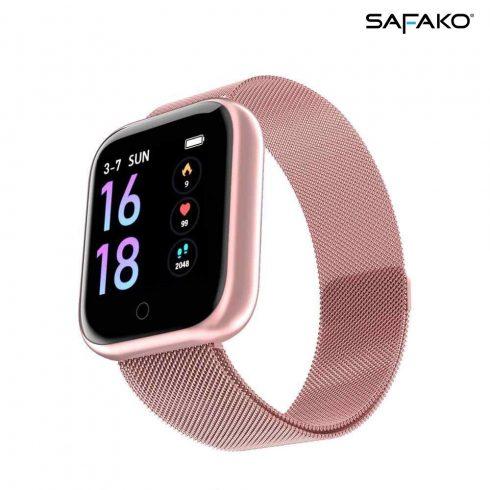 Ceas inteligent Safako P68 Pro roz