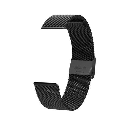 Curea metalică pentru ceas inteligent Safako SB7020 (negru)