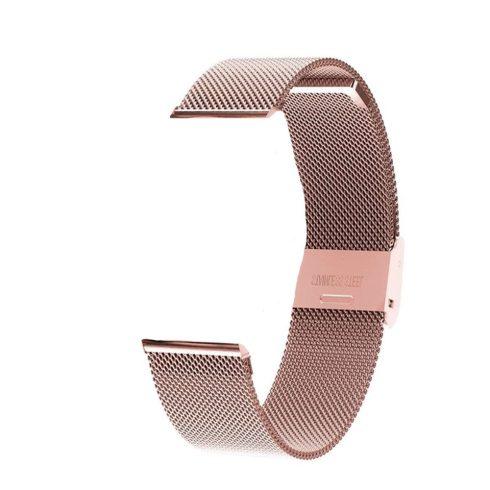 Curea metalică pentru ceas inteligent Safako SB7020 (rosegold)