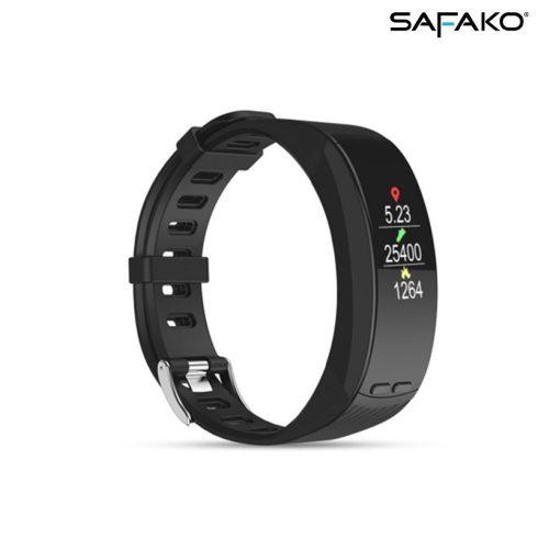 Brățară inteligentă cu GPS Safako SB9010 negru